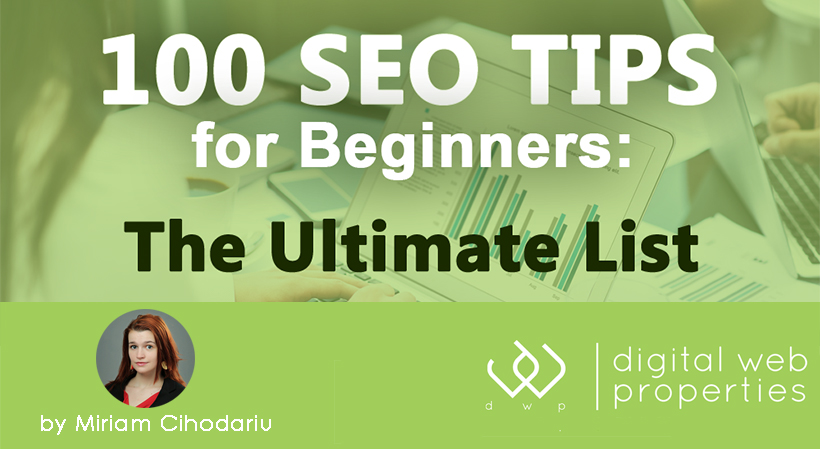 100 SEO Tips for Beginners, in One Sentence Each