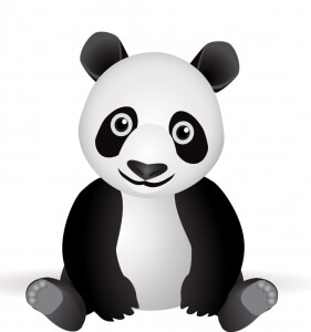 9_panda-vector