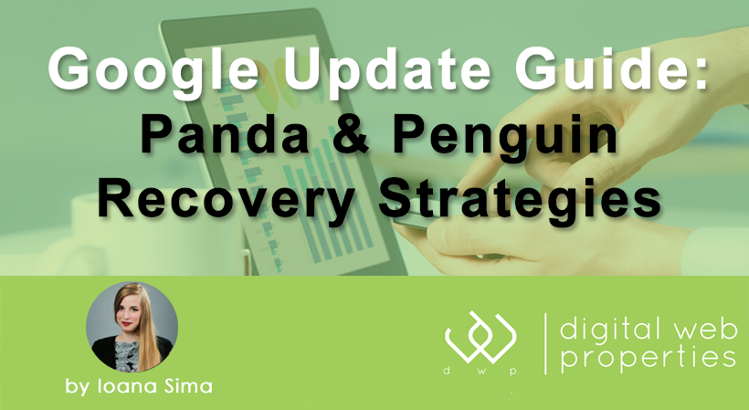 Google Update Guide: Recovery Strategies [Infographic]