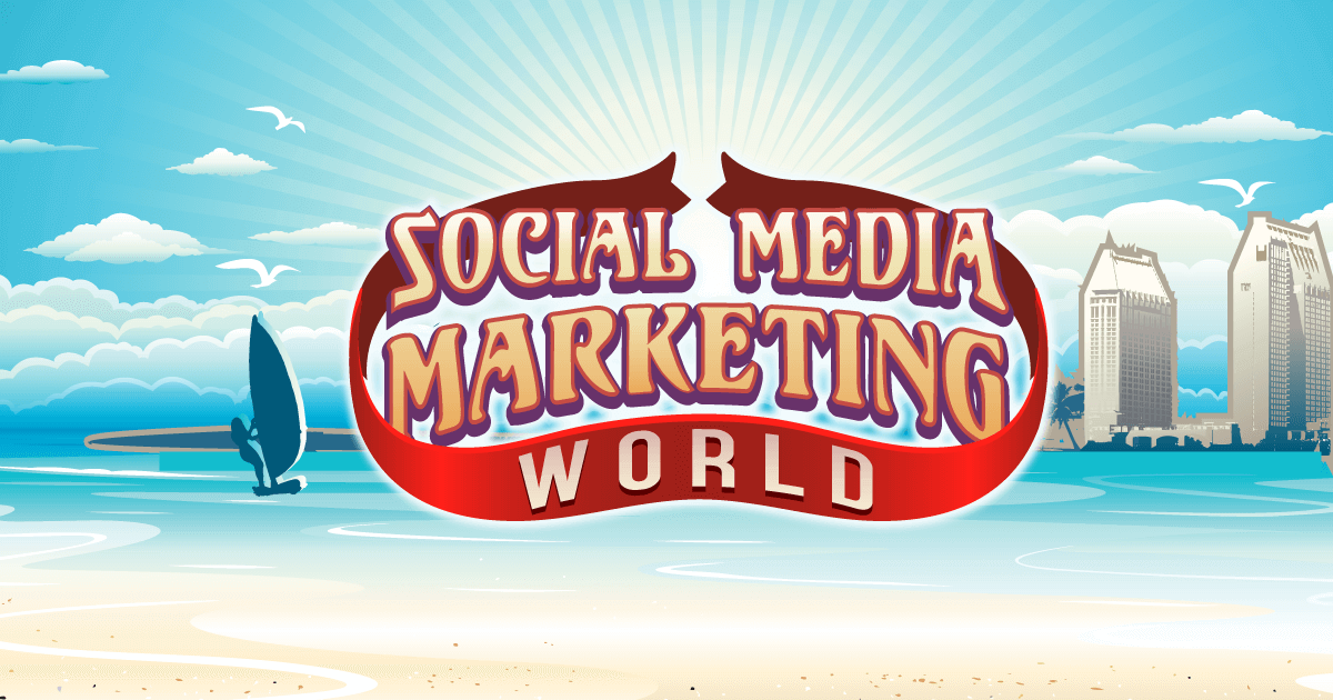 Social Media Marketing World Conference in 2018 by Social Media Examiner